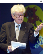 ECB bank chief Wim Duisenberg