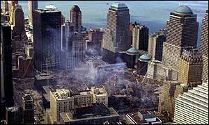 New York after the attacks