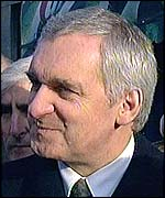 Irish PM Bertie Ahern