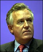 UK Minister for Europe Peter Hain