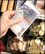 Euros will be in use from January 1