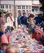 Street party 1977