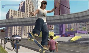 Screen shot from Playstation 2 version of Tony Hawk's Pro Skater 3, Activision