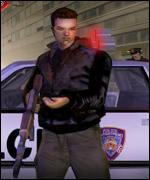 Screen shot from Playstation 2 game Grand Theft Auto 3, Sony