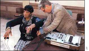 The conventional polygraph-style lie detector