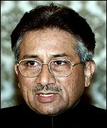 Pakistan leader Pervez Musharraf