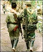 FARC couple