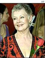 Dame Judi Dench plays the role of author Iris Murdoch