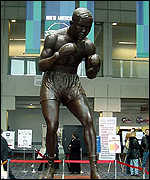 Statue of Joe Louis, Detroit Cobo Centre