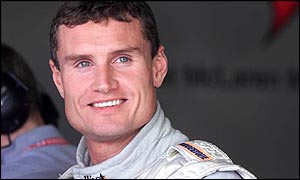 David Coulthard in good mood