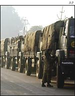 Indian army trucks