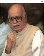 Indian Home Minister L.K. Advani