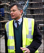 Transport secretary Stephen Byers