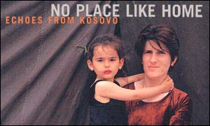 Lutfije Pllana and Luarda Pllana feature on the cover of the new book, No Place Like Home: Echoes From Kosovo