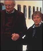 Jim Broadbent and Judi Dench