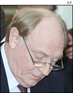 European Commissioner Neil Kinnock