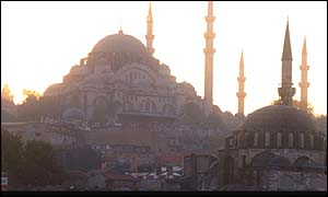 Suleyman mosque in Istanbul