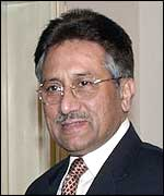 Pakistan's General Pervez Musharraf