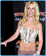 Britney was second on the worst dressed list