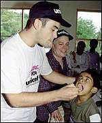 [ image: Let me immunize you: Robbie Williams in Vavuniya]