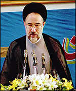 [ image: Mohammad Khatami: Issue is