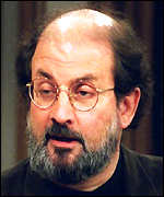 [ image: Rushdie still has a price on his head]