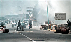 Unrest in Lesotho