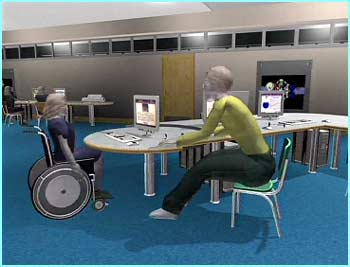 New-style schools will make access easier for disabled pupils