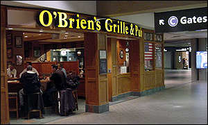 O'Brien's Grille & Pub at Pittsburgh International Airport