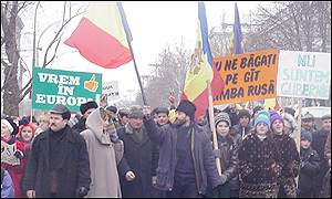 Demonstration in Kishinev