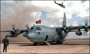 KC-130 like the one which crashed