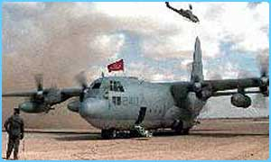 A KC-130 like the one that crashed
