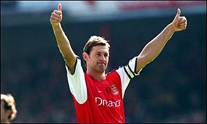 Arsenal captain Tony Adams