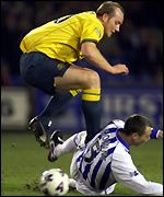 John Hartson and Kevin McGowne