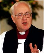 Archbishop of Canterbury Dr George Carey