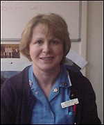 Senior staff nurse Debbie Hughes