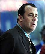 Assistant GB coach Paul Thompson