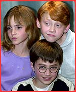 Hermione, Rupert and Daniel