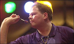 Holland's Raymond Barneveld during his Quarter-Final match against Mervyn King