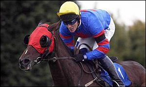 Tony McCoy rides Present Bleu to victory at Plumpton