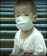 Malaysian child with anti-smog mask (unknown)