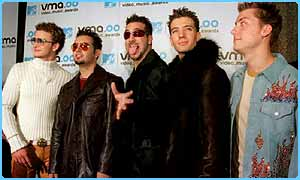Will  'N Sync be in Star Wars Episode II?