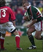 Graham Rowntree goes on the attack for Leicester