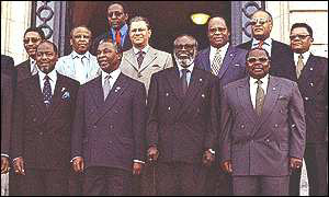 SADC ministers gather for a previous meeting