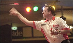 Fourth seed King had disposed of tournament favourite Raymond Barneveld in the previous round