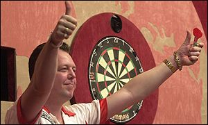 King will be hoping to reign at the Lakeside in Sunday's final