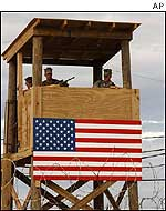 Watchtower at Guantanamo Bay