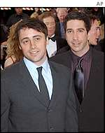 Matt Le Blanc and David Schwimmer