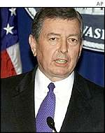 US Attorney-General John Ashcroft
