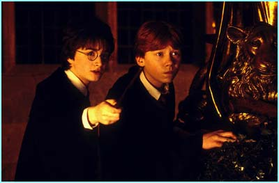 First pic from Harry Potter and the Chamber of Secrets